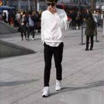 男士秋裝搭配 如何運用黑白色衛衣穿出型男style